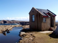 Derek Hill's Hut on Oile�n Thora� / Tory Island, Co. Donegal, Ireland