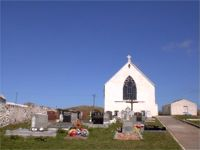 Graveyard on Oile�n Thora� / Tory Island, Co. Donegal, Ireland